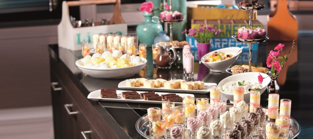 All Inclusive Buffet | Luxe all inclusive buffet in het restaurant